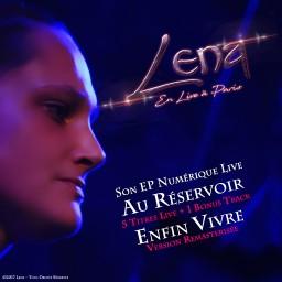 Lena en Live à Paris