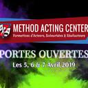 Portes Ouvertes Avril 2019 - Method Acting Center<br /><br />Method Acting Center, formations d'Acteurs, Scénaristes & Réalisateurs pour le Cinéma & le Théâtre, vous propose de participer à ses Portes Ouvertes, durant lesquelles vous pourrez tester gratuitement l'ensemble de ses ateliers :<br /><br />les 5, 6 & 7 AVRIL 2019<br />de 10h30 à 20h30,<br />dans nos locaux au 93 avenue d'Italie, Paris 13e<br /><br />COURS D'ESSAIS : <br />ACTORS STUDIO / ACTING in ENGLISH / SCÉNARIO & RÉALISATION /<br />ACTING on CAMERA / IMPROVISATION / YOGA / CHANT / DANSE /<br />COMÉDIE MUSICALE / COURS D'ANGLAIS<br />ACTING pour ADOS / CHANT pour ADOS<br /><br />NOS COACHES :<br />À Method Acting Center, tous nos coaches sont en constante activité dans le milieu du Cinéma ou du Spectacle. Ils pourront ainsi vous guider dans votre formation avec une connaissance concrète du métier.<br /><br />NOTRE ENGAGEMENT QUALITÉ : <br />- Une approche bienveillante et pragmatique de la méthode<br />- Des cours non surchargés, la possibilité de passer très régulièrement vos scènes<br />- Un suivi personnalisé et adapté à chaque profil d'acteur<br />- Une ambiance générale qui favorise l'entraide et non la compétition<br />- Une souplesse quand à vos obligations professionnelles<br />- Une équipe pédagogique à votre écoute pour vos doutes & questions<br />- Des salles adaptées à chaque type d'atelier<br />- Et la possibilité de répéter gratuitement vos scènes dans nos locaux<br /><br />INFO & RÉSERVATION : <br />- L'accès à tous les cours d'essais est libre et gratuit, seule compte votre motivation !<br />- Pour tous les cours d'essais, merci de penser à réserver en ligne :<br />https://www.methodacting.fr/portes-ouvertes-avril/<br />- Il sera possible de vous pré-inscrire pour l'année 2019/2020 au moment des portes ouvertes<br /><br />CONTACT : <br />06 07 41 41 25<br />contact@methodacting.fr<br />www.methodacting.fr