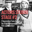 Stage #2 L'APPROCHE D'UNE SCÈNE selon les méthodes de L'ACTORS STUDIO<br /><br />Method Acting Center vous propose un stage weekend sur le travail de Scènes dialoguées selon les méthodes de Stanislavski et de l'Actors Studio.<br />Pour Acteurs & Réalisateurs, débutants ou confirmés.<br /><br />WEEKEND du 15 & 16 Décembre 2018 (DATE SUPPLÉMENTAIRE)<br />de 13h à 19h, au 93 Avenue d'Italie, Paris 13e<br />avec Rafael Linares<br /><br />OBJECTIFS du STAGE #2 l'Approche d'une Scène :<br />- Comment se préparer avant une scène, seul ou avec son partenaire de jeu- Découvrir comment faire d'une scène une analyse inspirante- Savoir traduire ses choix, envies et fantasmes de jeu en outils concrets et tangibles- Apprendre à structurer son jeu et définir une stratégie pour chaque scène- Manier la méthode de l'analyse active de Stanislavski<br />Après le stage, il est conseillé de poursuivre avec :<br />Stage #3 : La Composition du Personnage, weekend du 26 & 27 Janvier<br />Stage #4 : Face Caméra, weekend du 2 & 3 Mars<br />Stage #5 : Casting & Marché Professionnel, weekend du 23 & 24 Mars<br />Stage #6 : Acting in English, weekend du 34 & 5 Mai<br /><br />INFOS PRATIQUES :<br />- De 6 à 16 personnes<br />- 160€ pour 1 stage Actors Studio, 320€ pour 2 stages Actors Studio<br />- Forfaits 3/6/9 stages weekend : 10% de remise / 15% de remise / 20% de remise<br />- Formations éligibles à l'AFDAS, aux OPCA, et Pôle emploi<br />- Un acompte de 30% vous sera demandé au moment de la réservation<br /><br />INSCRIPTIONS EN LIGNE :<br />https://www.methodacting.fr/stage2-lapproche-dune-scene/<br />contact@methodacting.fr<br />06 07 41 41 25